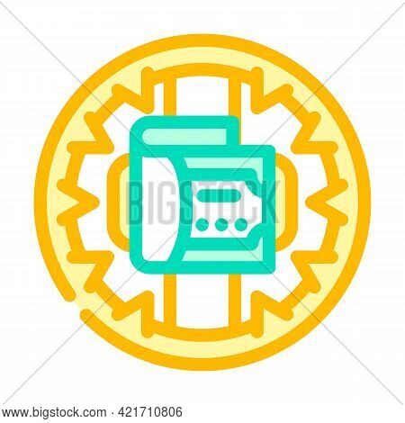 Money Trap Color Icon Vector. Money Trap Sign. Isolated Symbol Illustration