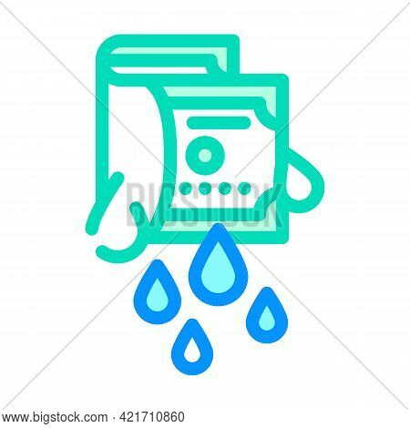 Money Laundering Color Icon Vector. Money Laundering Sign. Isolated Symbol Illustration