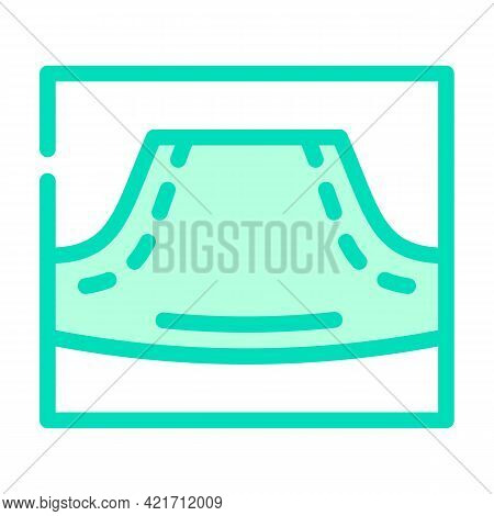 Hoodie Pocket Color Icon Vector. Hoodie Pocket Sign. Isolated Symbol Illustration