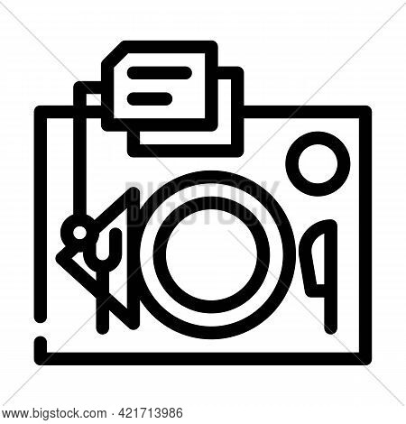 Serving Rules Line Icon Vector. Serving Rules Sign. Isolated Contour Symbol Black Illustration