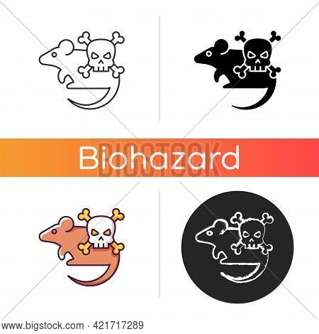 Animals Icon. Mice And Rats. Small Animals That Carry Dangerous Diseases. Health Care Problem. Zoono