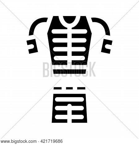 Stimulant For Whole Body Glyph Icon Vector. Stimulant For Whole Body Sign. Isolated Contour Symbol B