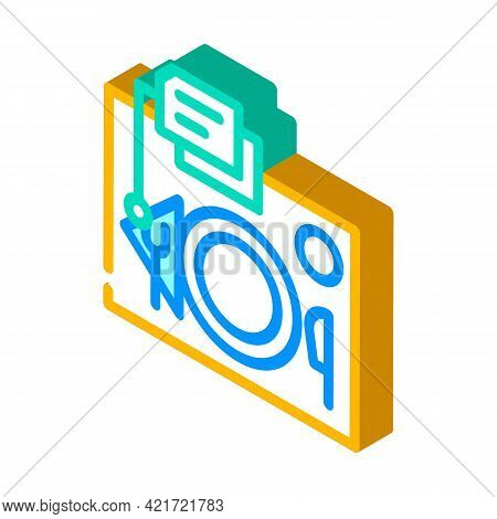 Serving Rules Isometric Icon Vector. Serving Rules Sign. Isolated Symbol Illustration