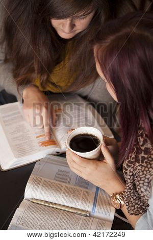 Bible Study And Coffee