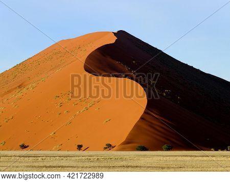 Dunes In Namib Desert, Sossusvlei, Namibia, Africa