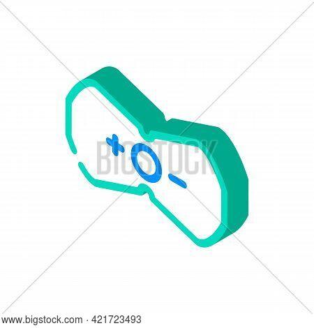 Stimulant For Press Isometric Icon Vector. Stimulant For Press Sign. Isolated Symbol Illustration