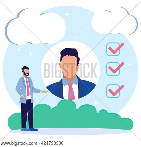 Vector Business Graphics, Open Vacancies, Companies And Business Corporations Looking For Employees