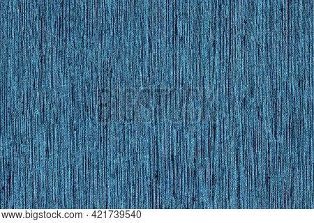 Closeup Navy Blue Color Fabric Sample Texture Backdrop.strip Line Dark Blue,indigo Blue Colors Fabri