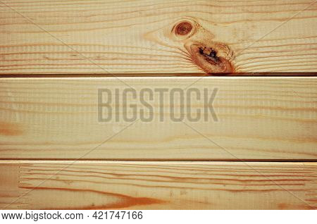Timber background, timber textured wooden background - surface of new clean planks of spruce and pine wood, timber surface