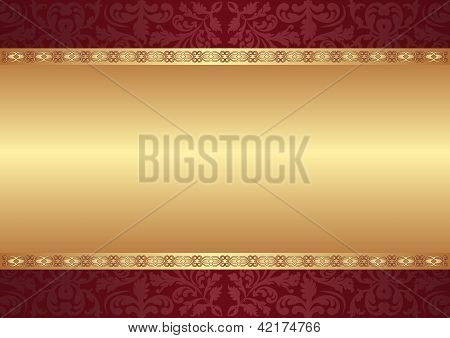 Background With Ornaments