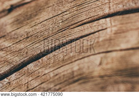 Brown Aged Wood Texture For The Background.