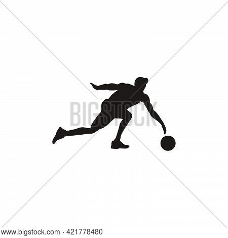 Silhouette Of Man Catching The Ball On Basket Ball Game - Illustrations Of Basket Ball Player Catchi