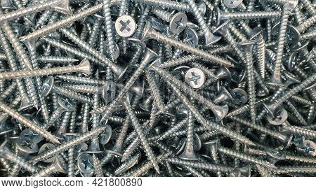 Self-tapping Screw For Installation Of Metal Roofing And Other Construction Works, Self-tapping Scre