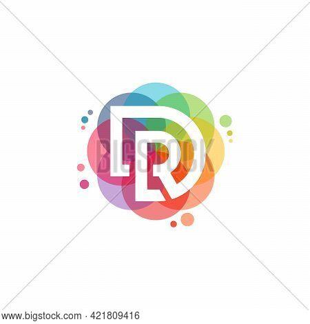 Colorful R Logo Vector, Letter R Logo Designs Template, Design Concept, Logo, Logotype Element For T