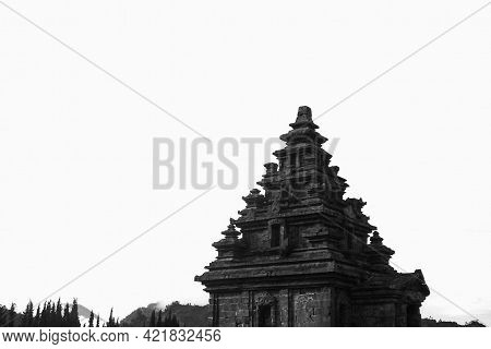 The Architectural Roof Arjuna Ancient Temple At Dieng