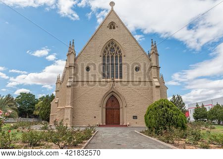 Oudtshoorn, South Africa - April 5, 2021: The Dutch Reformed Mother Church Completed In 1879, In Oud