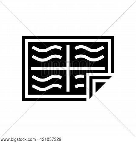 Diapie Baby Glyph Icon Vector. Diapie Baby Sign. Isolated Contour Symbol Black Illustration