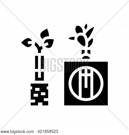 Integration Station Glyph Icon Vector. Integration Station Sign. Isolated Contour Symbol Black Illus