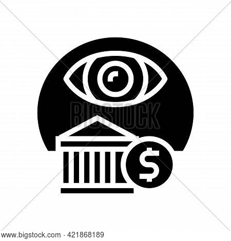 Insurance Claims Glyph Icon Vector. Insurance Claims Sign. Isolated Contour Symbol Black Illustratio