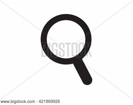 Search Icon. Magnifying Glass Symbol. The Sign Of Loupe. Navigation Button  For App, Web Design, Int