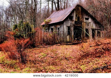 Hdr Cabin/Shed