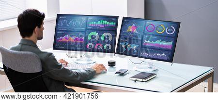 Business Data Analytics Dashboard And Kpi Performance