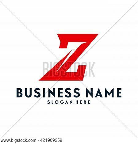 Fast Z Initial Logo Designs Template, Z Dash Logo Symbol, Logo Template Icon