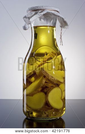 amazing fragrant tangy homemade infused ginger olive oil