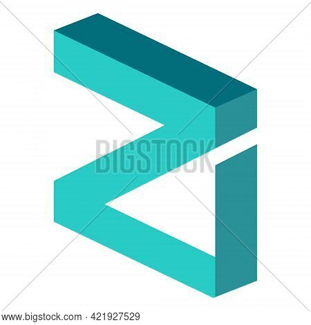Zilliqa Zil Token Symbol Of The Defi Project Cryptocurrency Logo, Decentralized Finance Coin Icon Is