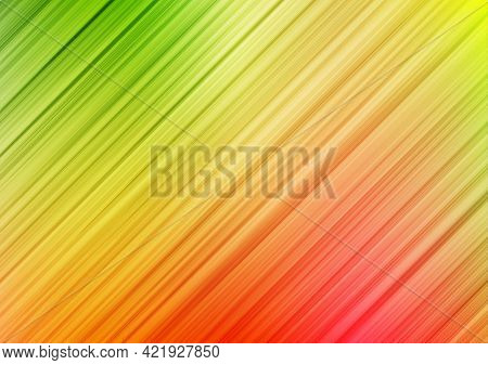 Oblique Line Striped Colorful Abstract Background. Vector Illustration