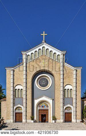 Silvi Marina, Italy - 06 05 2021: Chiesa Di Santa Maria Assunta