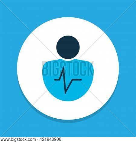 Personality Traits Icon Colored Symbol. Premium Quality Isolated Character Element In Trendy Style.