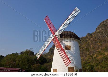 Swiss Sheep Farm Windmill3