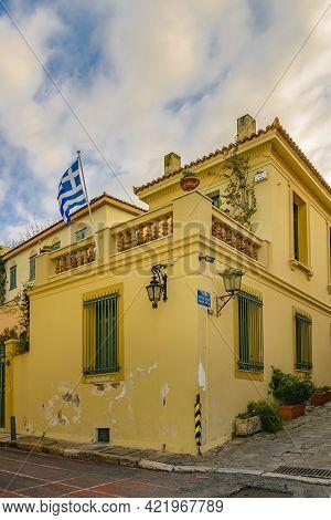 Elegant Building, Plaka District, Athens
