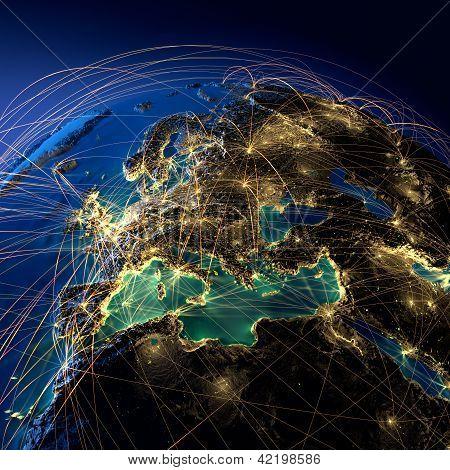 Principales rutas en Europa