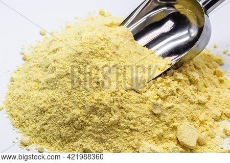 Pure Sulfur Powder, Used In Medicine, Or Fertilizer Or Fungicide