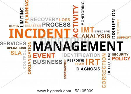 Word Cloud - Incident Management
