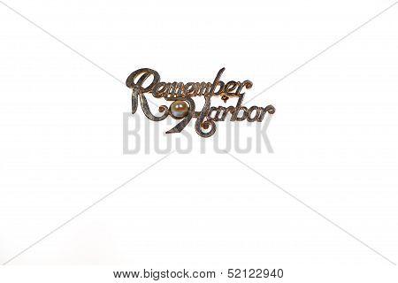 Remember Pearl Habor pin