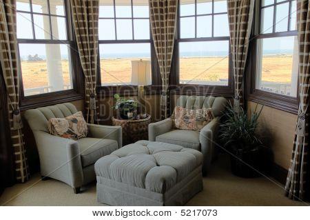 gemütlichen Luxus Wohnzimmer.