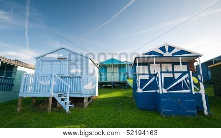 Beach Huts , Whitstable