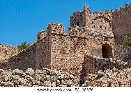 Walls of Ancient Corinth.