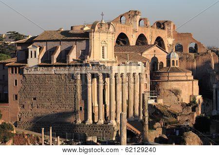 Temple of Antonino and Faustina