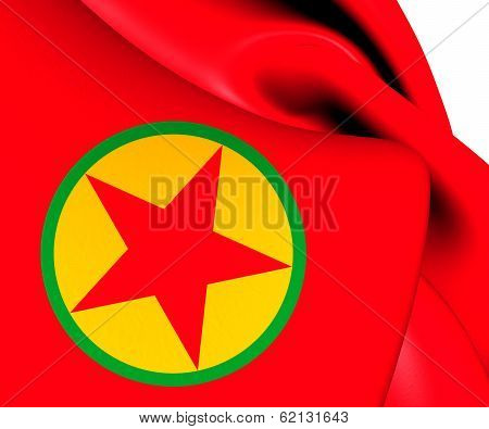Flag Of Kurdistan Workers' Party
