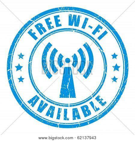 Free wifi stamp