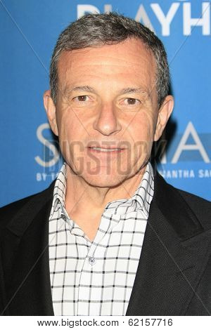 LOS ANGELES - MAR 22: Bob Iger at the Geffen Playhouse's Annual 'Backstage At The Geffen' Gala at Geffen Playhouse on March 22, 2014 in Los Angeles, California