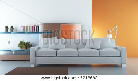 Living Room Setting