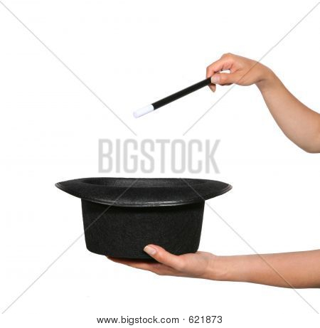 Magician (Focus On Hat)
