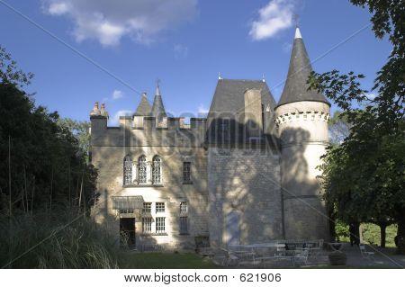Chateau Near Le Bugue, France