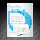 vector company flyer brochure magazine cover and poster template  poster