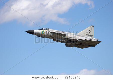 Swedish Fighter jet